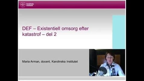 Thumbnail for entry DEF Det existentiella förbandet del 2 (med undertext)