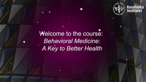 Thumbnail for entry KIBEHMEDx - Introduction to KI MOOC on behavioral medicine!