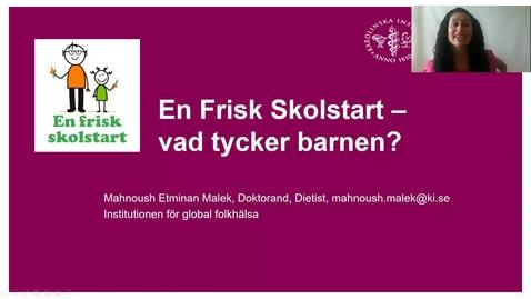 Thumbnail for entry En Frisk Skolstart - Vad tycker barnen?