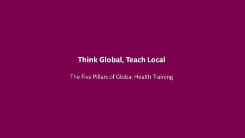 Thumbnail for entry Think Global Teach Local
