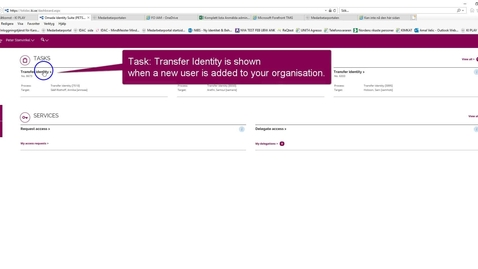 Thumbnail for entry Transfer identity