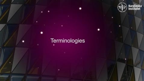 Thumbnail for entry eHealth Terminologies