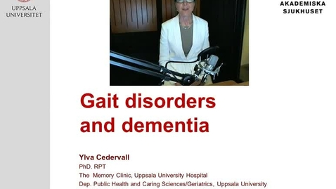 Thumbnail for entry Gait disorders and dementia