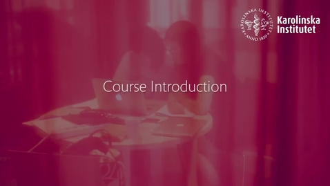 Thumbnail for entry Course Introduction