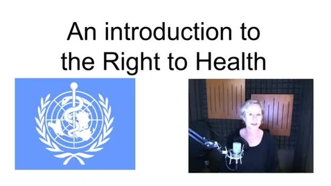 Thumbnail for entry The Right To Health
