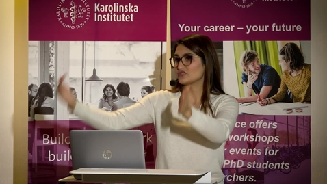 Thumbnail for entry Seminar Erasmus+ traineeship 2018-11-14