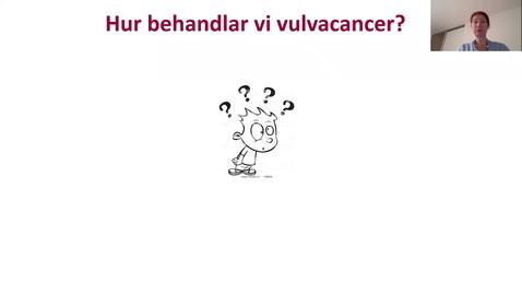 Thumbnail for entry Presentation Vulvacancer Zach Svenska 2020 Del 2