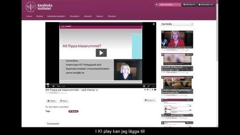 Thumbnail for entry Skapa interaktiva frågor med KI Play