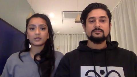 Thumbnail for entry Nadil och Shana (10 min)