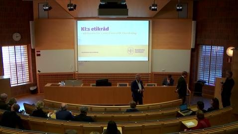 Thumbnail for entry Etikseminarium del 1: Om öppenhet och god sed vid KI