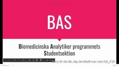 Thumbnail for entry Information från studentsektionen