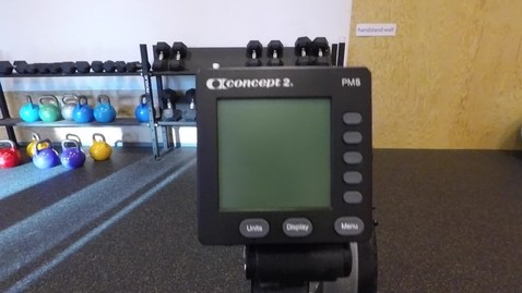 Thumbnail for entry Rowing machine