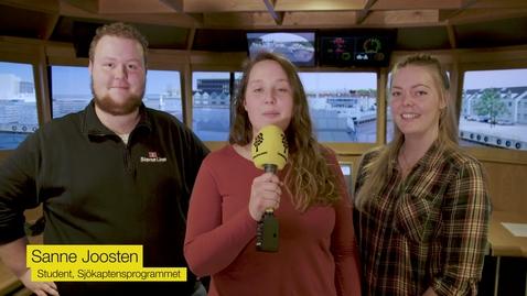 Miniatyr för mediepost Virtuellt studiebesök på Sjöfartshögskolan