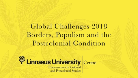 """Miniatyr för mediepost """"What use are the Humanities"""" - Keynote at Global Challenges 2018 by Dominick LaCapra"""