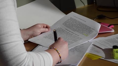 Thumbnail for entry Studieteknik – bli framgångsrik i dina studier