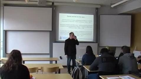 Miniatyr för mediepost Teman i kriminologisk polisforskning, del 2, 2014-02-06
