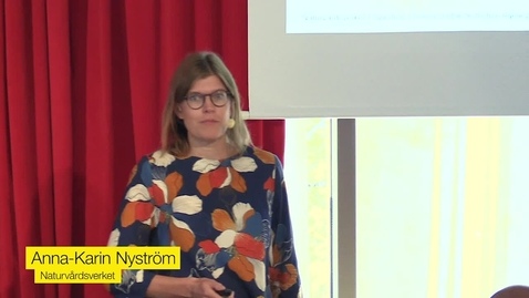 Miniatyr för inlägg Så når vi klimatmålen - i Sverige och världen. Anna-Karin Nyström, Naturvårdsverket