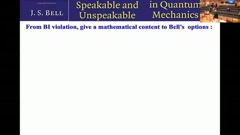 Miniatyr för mediepost Round Table: Is quantum theory nonlocal? - QIP