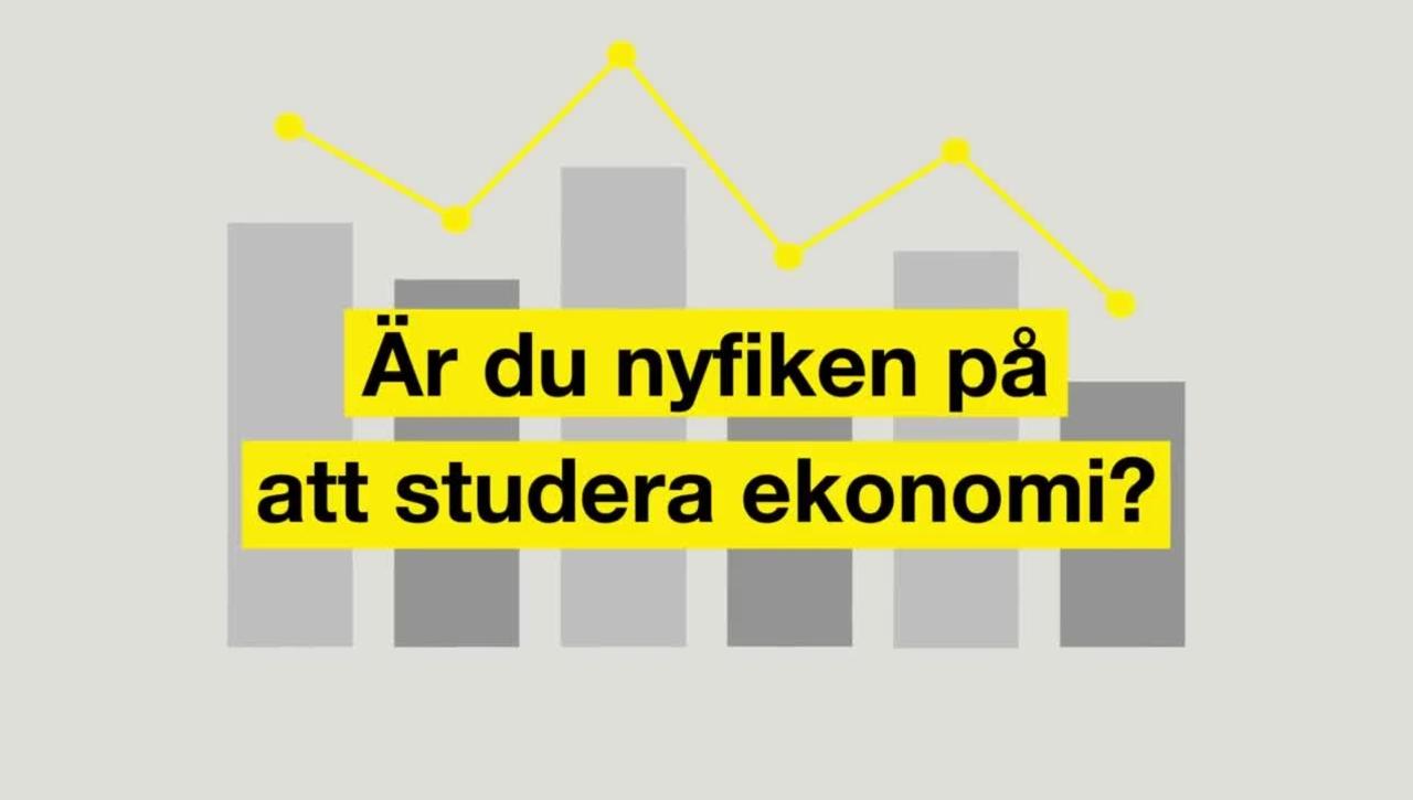 Studera ekonomi