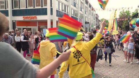 Thumbnail for entry Därför deltar Linnéuniversitetet i pride