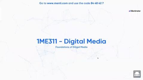 Miniatyr för inlägg 1ME311 - Lecture 1