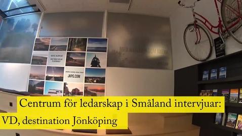 Miniatyr för mediepost Patrik Olderius, VD Destination Jönköping