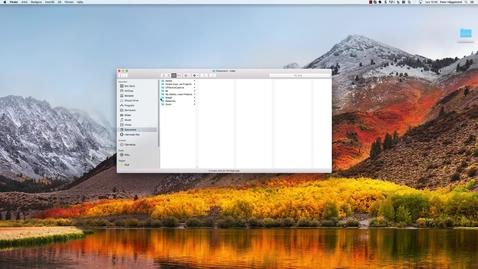 Thumbnail for entry Avinstallera CaptureSpace på Mac