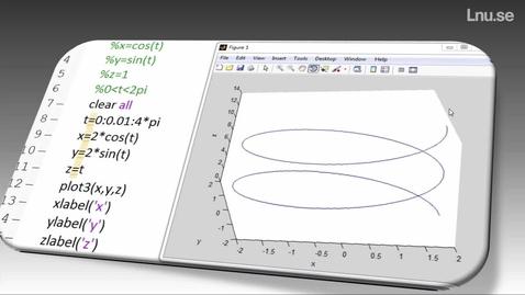 Miniatyr för mediepost Hur skriver man ett program i Matlab