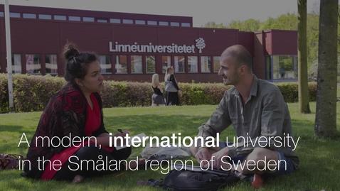 Miniatyr för mediepost Slideshow Linnaeus University