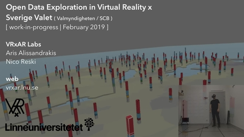 Miniatyr för inlägg Open Data Exploration in Virtual Reality x Sverige Valet (WIP, February 2019)