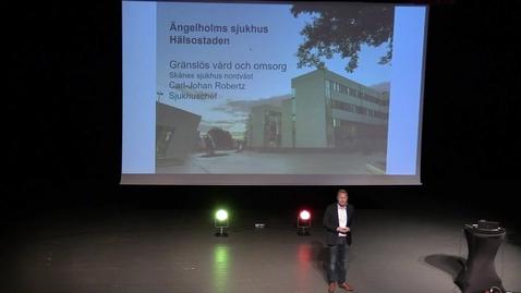 Miniatyr för mediepost Carl-Johan Robertz - Hälsostaden Ängelholms sjukhus