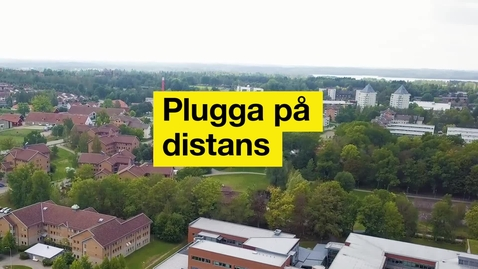 Thumbnail for entry Plugga på distans