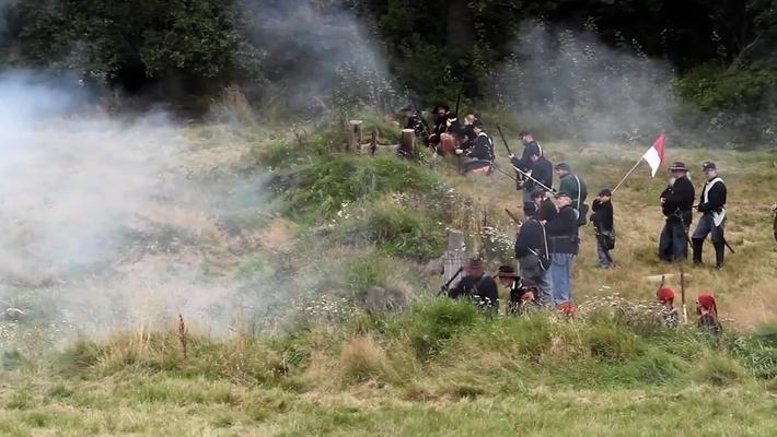 Varför återskapas Amerikanska inbördeskriget i Skandinavien?