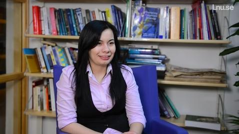 Miniatyr för mediepost Alyona Sazonova, International Business Strategy