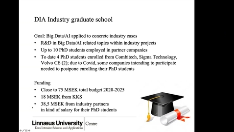 Thumbnail for entry 31 - DIA Industry Graduate School