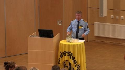 Miniatyr för mediepost Erfarenheter av ledarskap inom polisen