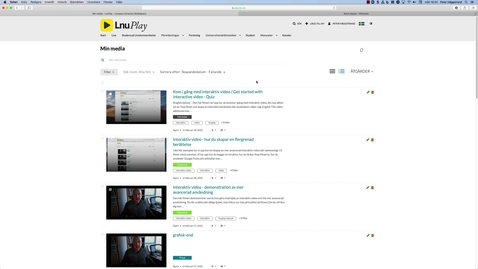 Thumbnail for entry Hotspots - Skapa länkar i din film / Hotspots -create links in your video