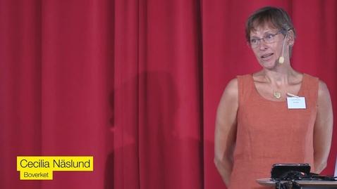 Miniatyr för mediepost Cecilia Näslund, Boverket - Hur får vi vattnet att räcka? Vattenförsörjning i framtida klimat.