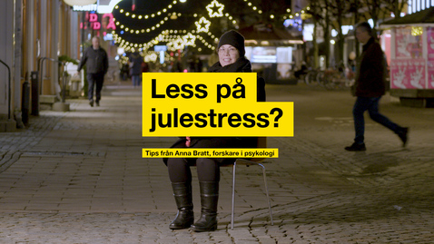 Thumbnail for entry Less på julestress?