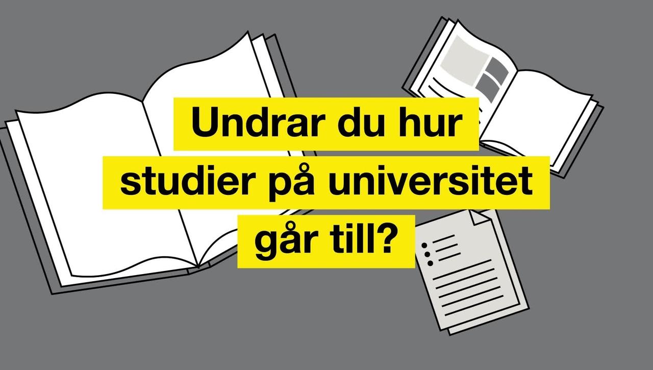 Så funkar universitetsstudier