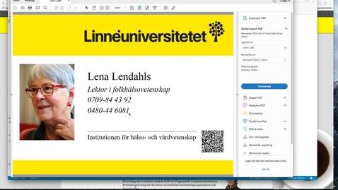 Miniatyr för mediepost Färgutskrift av PDF på Mac.