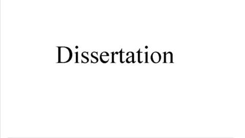 Miniatyr för mediepost Dissertation