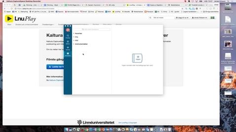 Thumbnail for entry Strul med onlinemöte på mac - Skype för företag - byta inloggning