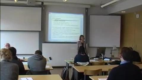 Miniatyr för mediepost Polis-och preventionsforskning i Norden, del 2, 2014-06-02