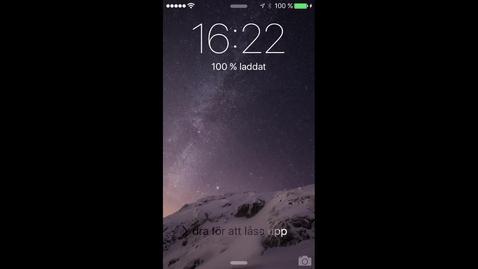 Miniatyr för inlägg Spela in film via din mobil och skicka till LnuPlay