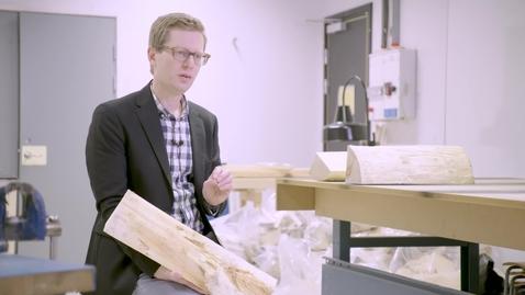 Thumbnail for entry Jimmy forskar om produktionssystem inom träindustrin