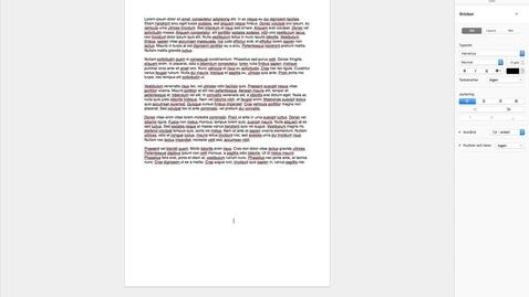 Miniatyr för mediepost Pages till PDF