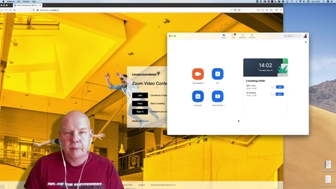 Thumbnail for entry Ställ in lösenordskyddade möten i Zoom