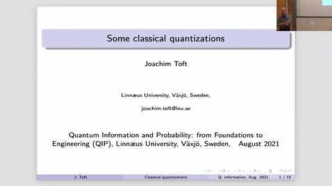 Miniatyr för mediepost Joachim Toft - QIP