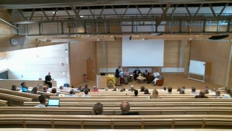 Miniatyr för mediepost Mellanchefers villkor, paneldiskussion
